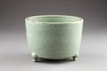 Grön rökelsebrännare från Kina, Yuan dynastin (1271-1368) - Hallwylska museet - 95510.tif