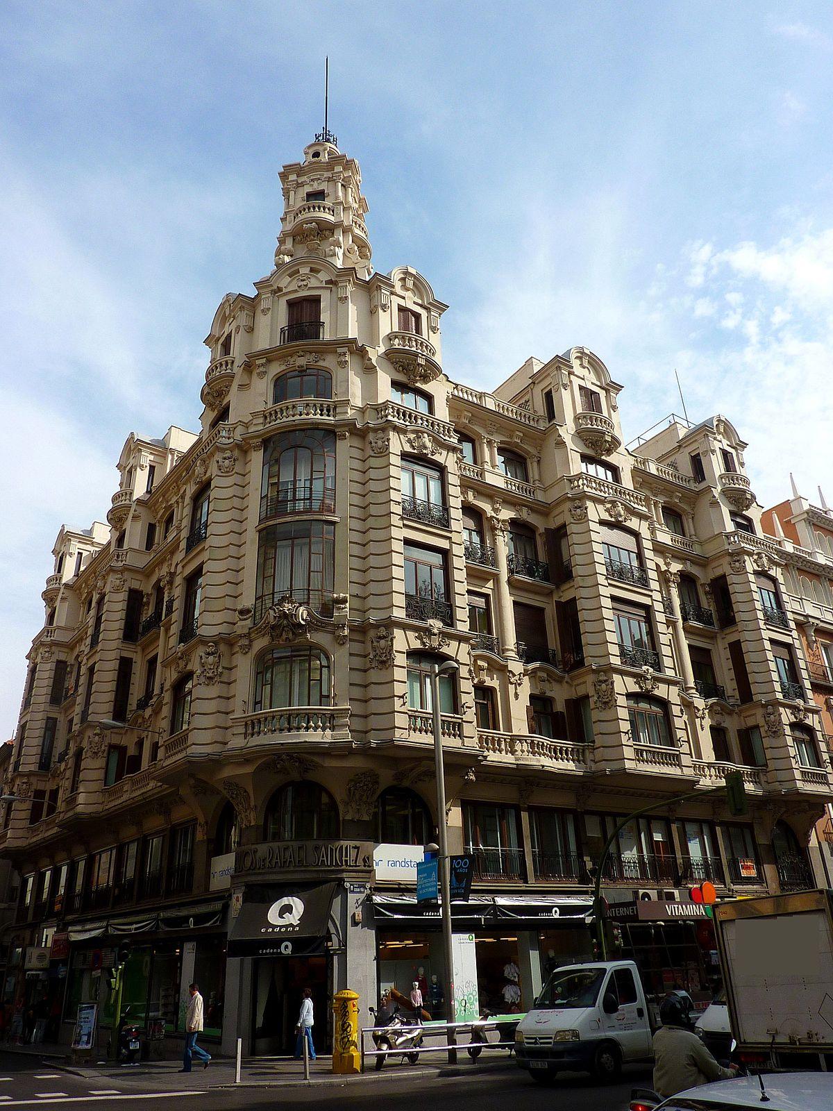 Viviendas y oficinas para rafael s nchez wikipedia la for Oficinas del inss en madrid capital