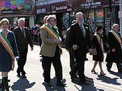 Grand Marshals at Yonkers Parade 2010