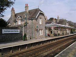 Grange over sands railway station