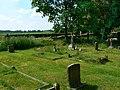 Graves in the churchyard, the Parish Church of St John the Baptist, Bodicote - geograph.org.uk - 1893347.jpg