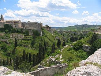 Gravina in Puglia - Panorama of Gravina in Puglia