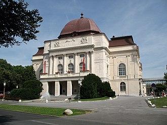 Graz Opera - Exterior of Graz Opera House