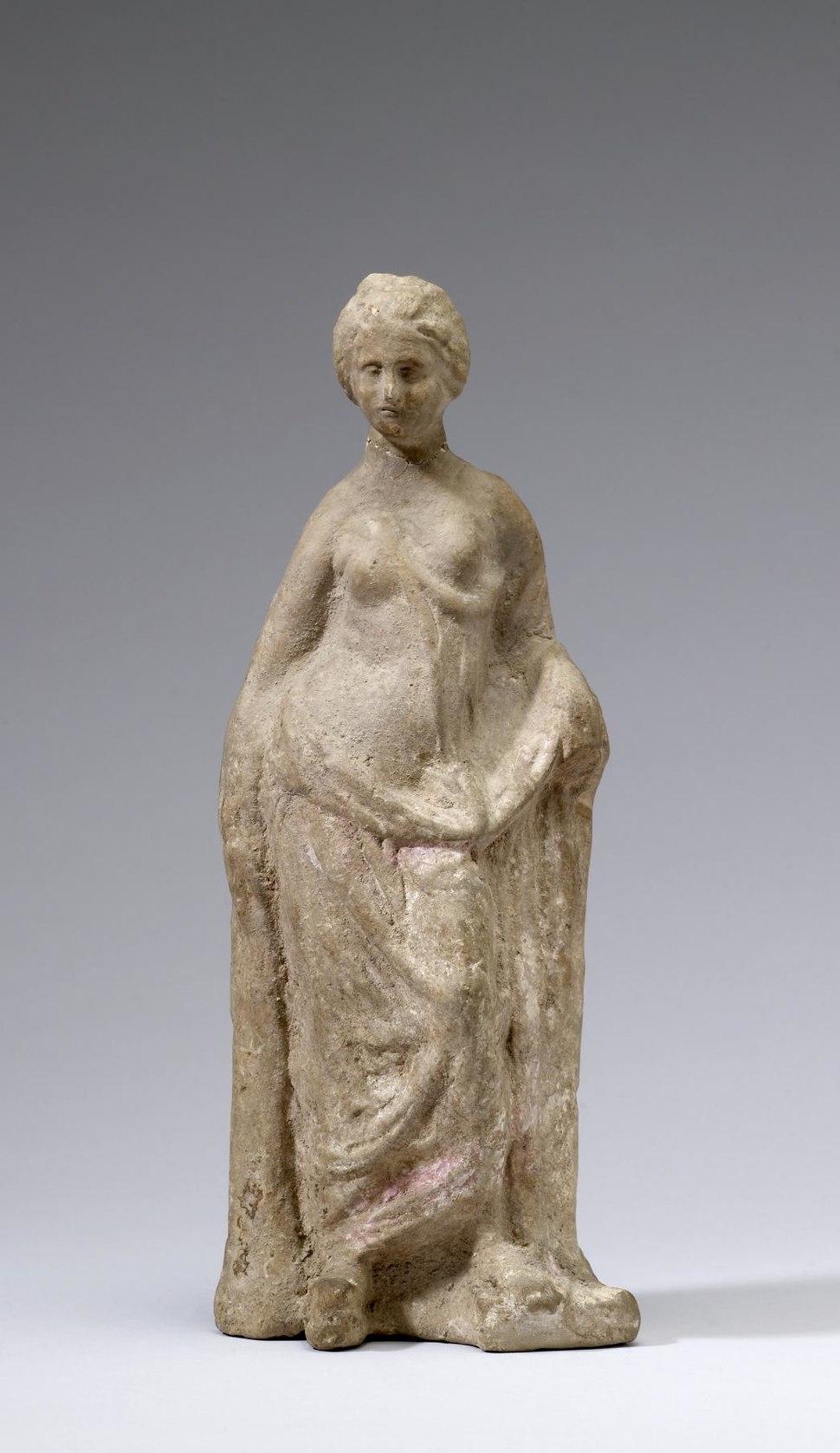 Greek - Tanagra Figurine - Walters 23281