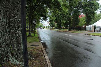 Georgia State Route 28 - Georgia State Route 28 (Greene Street) in Augusta