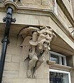 Grotesque figure, Market Place, Dewsbury - geograph.org.uk - 729412.jpg