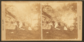 Group at rocks, from Robert N. Dennis collection of stereoscopic views.png