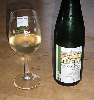 Wine and food matching - Gruner Veltliner is often made as a light bodied wine.
