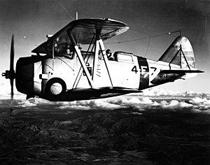VF-11 - VF-4 F3F-1 in 1939