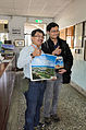 Guest Visiting Takao Railway Museum 20151129c.jpg
