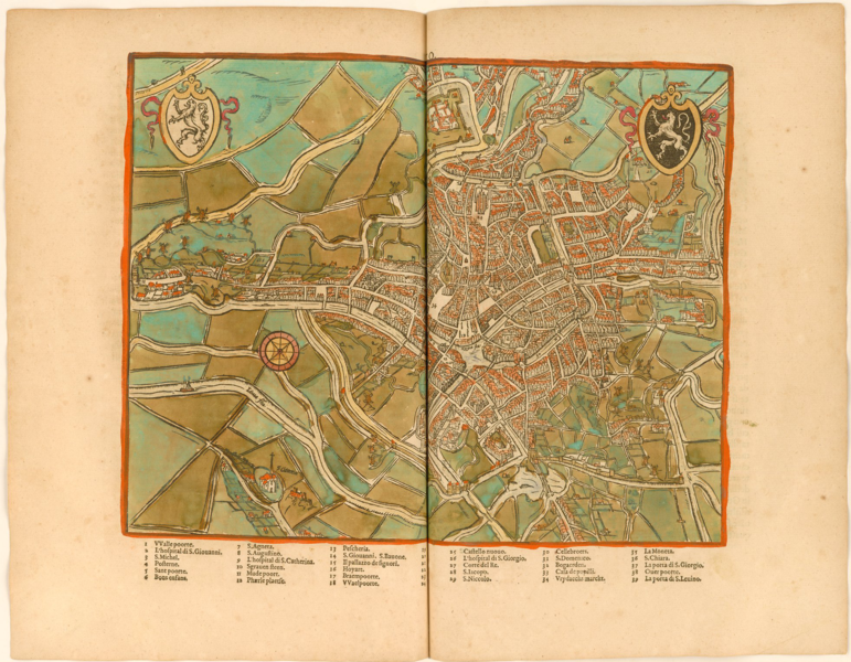 File:Guicciardini Map of Ghent.png