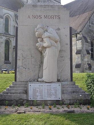 War memorials (Aisne) - Guignicourt