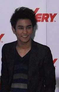 Gun The Star at Launching of VERY tv.jpg