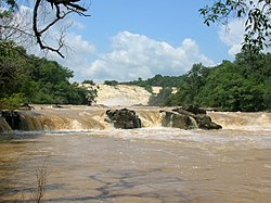 Gurara Falls, a waterfall along the Gurara River in Niger State