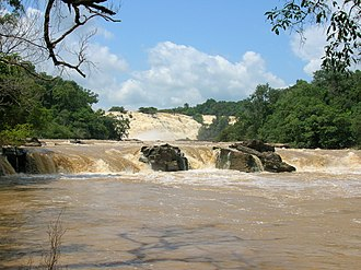 Niger State - Gurara Falls, a waterfall along the Gurara River in Niger State