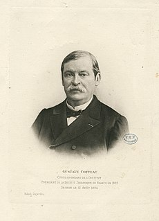 Gustave Cotteau French paleontologist, naturalist and geologist