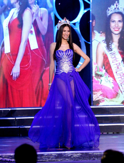 Gwendoline Ruais Filipino beauty pageant winner