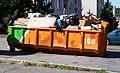 Háje, Kazimírova - Kryštofova, kontejner na objemný odpad.jpg