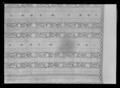 Hästtäcke guldbrokad randigt, Turkiet - Livrustkammaren - 68833.tif