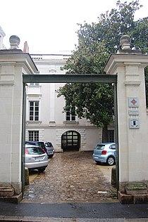 Hôtel de Maquillé, Angers - vue de la rue du Cornet.jpg