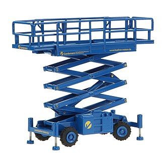 NZG Models - Haulotte scissors lift, an example of the breadth of industrial offerings by NZG.