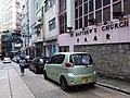 HK 上環新街 Sheung Wan New Street August 2018 SSG sidewalk carpark Toyota.jpg