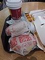 HK 香港機場快線 Airport Terminal T1 shop 麥當勞餐廳 McDonald's Fast Food Restaurant breakfast tray August 2019 SSG 03.jpg