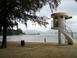 Castle Peak Beach - Image: HK Castle Peak Beach