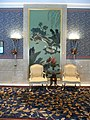 HK ISL Island Shangri-La Hong Kong 港島香格里拉酒店 hotel lobby chairs n wall picture Dec-2012.JPG