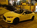 HK SW Tasta motor vehicle white car SR1 parking Pound Lane night Tai Ping Shan Street Jan-2016 DSC 002.JPG