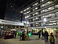 HK Sheung Wan PMQ facade exterior night courtyard Dec-2015 DSC 001.JPG