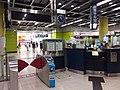 HK TKL 調景嶺站 Tiu Keng Leng MTR Station interior night July 2019 SSG 07.jpg