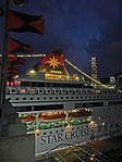 HK TST 海運大廈 Ocean Terminal 麗星郵輪 Star Cruises 1990 雙魚星號 Star Pisces Sept-2013 Flags 06.JPG