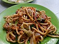 HK food 上海粗炒麵 Shanghai fried noodle 金太陽 Golden Sun Fast Food Restaurant Nov 2016 Lnv 01.jpg