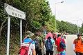 HK walking 新娘潭路 Bride's Pool Road name sign n visitors June 2018 IX2.jpg