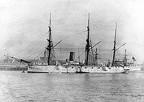 HMS Calliope in port.jpg