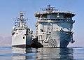 HMS Cornwall Alongside RFA Diligence MOD 45152167.jpg