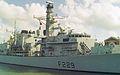 HMS Lancaster (F229) Type 23 Frigate 4,900 tonnes, Royal Navy. (11669792124).jpg