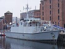 HMS Ramsey (M110) in Liverpool.jpg