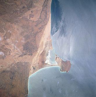 Ras Hafun - Image: Hafun from space