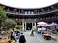 Hakka Houses Yongding Fujian China 福建省 永定土樓群 客家民居 僑福樓 - panoramio.jpg