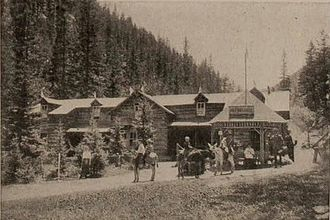 Englemann Canyon - Image: Halfway House, Pike's Peak, Colorado