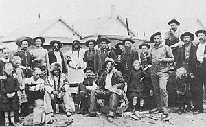 Halifax Provisional Battalion - Halifax Provisional Battalion, Medicine Hat, District of Assiniboia (1885)