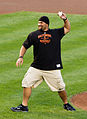 Haloti Ngata throwing first pitch at Orioles game.jpg