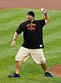 Haloti Ngata throwing first pitch at Orioles game.jpg