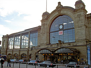 Hamburg Dammtor station for long distance trai...