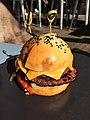 Hamburger at the Gerard's Bar, Fortitude Valley, QLD.JPG