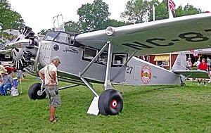 Northwest Airlines - Rebuilt 1929 Hamilton H-47 wearing Northwest Airways markings in 2010