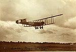 Handley Page O-400 civil transport G-EAKG in flight (7585332700).jpg