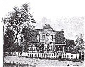 Theodor Storm - House of Theodor Storm in Hademarschen
